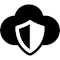 Cloud Security icon/