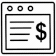 Website Payment Gateway icon/