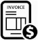 Invoice Creation Payments icon/