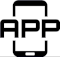 Mobile application icon/