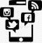 Social Media Marketing icon/