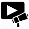 Video Marketing icon/
