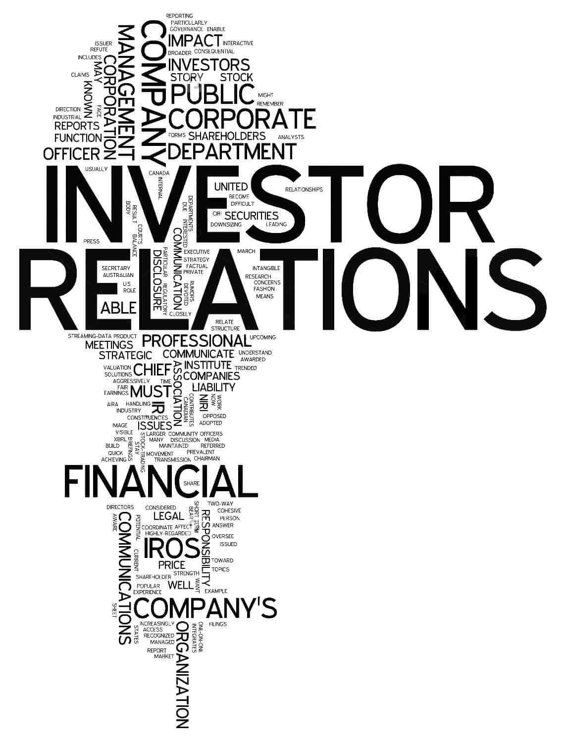 Investor relation showing image/